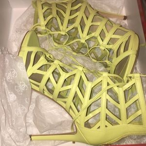 Guess Anasia Caged Heels